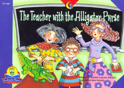 Teacher with the Alligator Purse